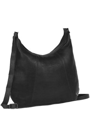 Chesterfield Hobo Bag Jolie Cow Wax Pull Up Collection, black