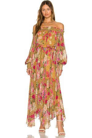 ROCOCO SAND Avar Off Shoulder Dress in . Size M, S, XS.
