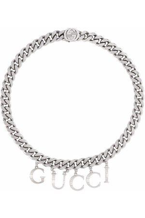 Gucci Halskette mit -Schriftzug