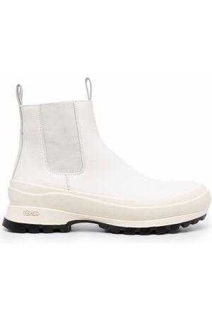 Jil Sander Klassische Chelsea-Boots