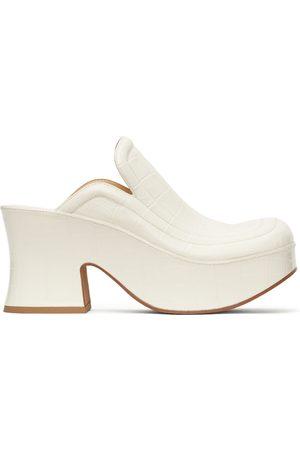 Bottega Veneta Croc Wedge Heels
