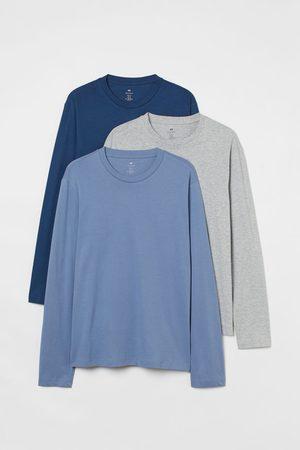 H&M 3er-Pack Shirts Regular Fit