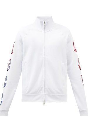 Moncler Logo-print Cotton-jersey Track Jacket