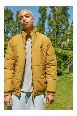 Urban Outfitters Iets frans. Mustard Puffer Jacket