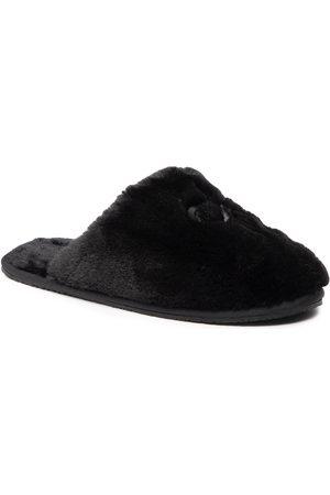 Calvin Klein Slipper Mule Fur HW0HW00636 Ck Black BAX