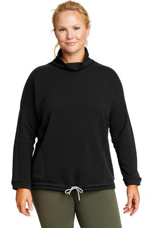 Eddie Bauer Damen Longsleeves - Therma Tech Langarmshirt mit Rollkragen Damen Gr. XS