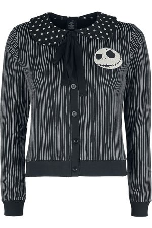 The Nightmare Before Christmas Damen T-Shirts, Polos & Longsleeves - Pinstripes Jack Cardigan