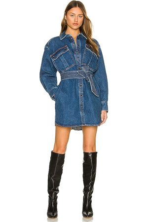 Marissa Webb Skylar Denim Tunic Dress in . Size S, XS, M.