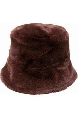 Pinko Fischerhut aus Faux Fur