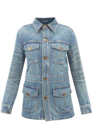 Saint Laurent Patch-pocket Denim Jacket