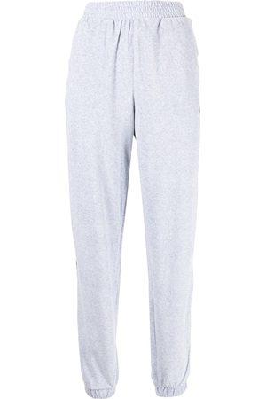 adidas Damen Jogginghosen - Logo-embroidered high-waisted track pants