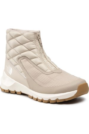 The North Face Thermoball Progressive Zip NF0A4O9D14K1 Flax/Vintage White