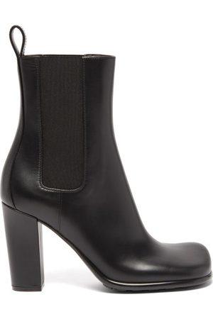 Bottega Veneta Storm Moulded-toe Leather Chelsea Boots