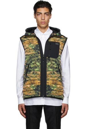 Burberry Green Down Printed Vest