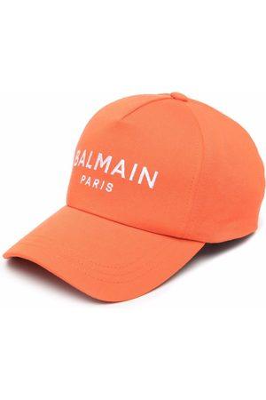 Balmain Damen Hüte - Baseballkappe mit Logo-Print