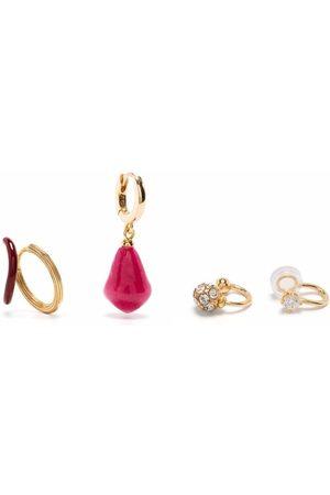 Panconesi Damen Ohrringe - 4 piece earring set