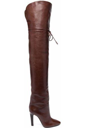 Saint Laurent Damen Stiefeletten - Jane over the knee boots