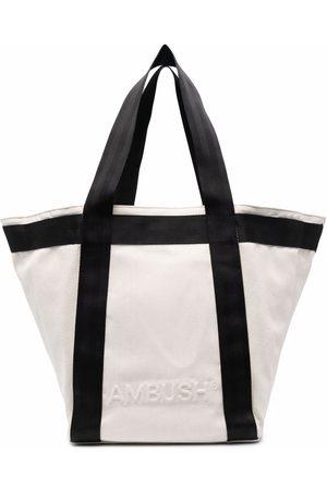 AMBUSH Handtaschen - EMBOSS LOGO MEDIUM TOTE BIRCH BIRCH