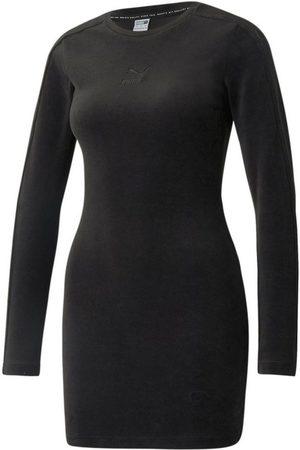 PUMA Damen Freizeitkleider - Sweatkleid »Ikonisches, figurbetontes Velourskleid für Damen«