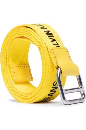 Calvin Klein Jeans Damen Gürtel - Slider Webbing Belt 30mm K60K608292 Bright Sunshine ZHM