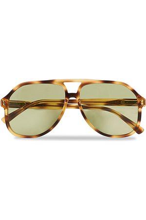 Gucci Herren Sonnenbrillen - GG1042S Sunglasses Havana Green
