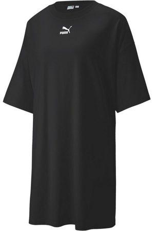 PUMA Damen Freizeitkleider - Sweatkleid »Classics Damen T-Shirt-Kleid«