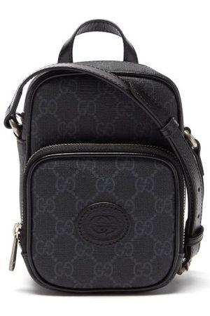 Gucci Gg Supreme Canvas And Leather Mini Cross-body Bag
