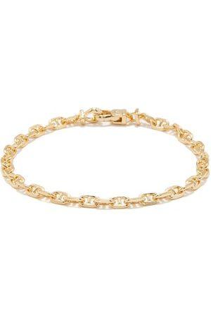 TOM WOOD Anchor-link 9kt -plated Bracelet