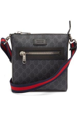 Gucci Herren Reisetaschen - Gg-jacquard Coated-canvas Cross-body Bag