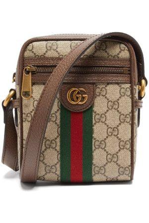 Gucci Gg-logo Coated-canvas Cross-body Bag