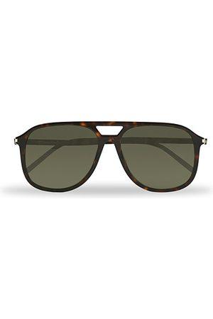 Saint Laurent Herren Sonnenbrillen - SL 476 Sunglasses Havana Grey