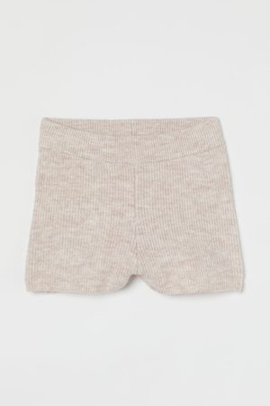 H&M Shorts in Rippenstrick